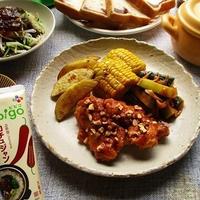 bibigoコチュジャンを使って、鶏手羽元の甘辛がらめが美味しい♪