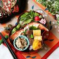 【糖質オフ】鮭の塩焼き弁当~~Grilled salmon bento