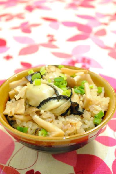 ぷりぷり♪牡蠣と キノコの炊き込みご飯& レシピブロガー 「トースト本」2月7日発売!