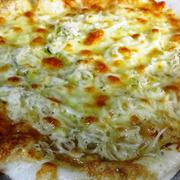 お餅としらすのマヨ醤油ピザ<お餅活用レシピ>