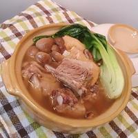 ガッツリ食べるスープ*バクテー風