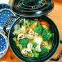 根菜と鶏手羽のあったかスープ