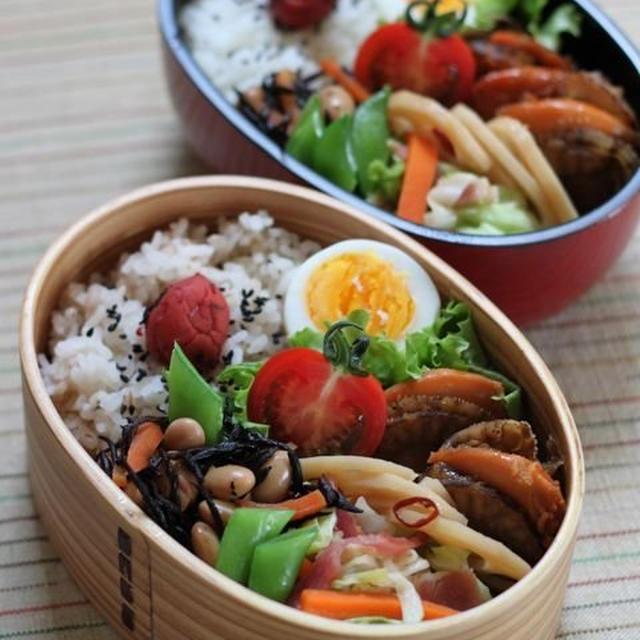 ホタテのしぐれ煮弁当 ☆ 【レシピ】台湾ラーメン ペースト♪