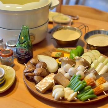 おうち串カツの日と南蛮漬けの日の晩ごはん