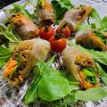 美味しい・簡単・ヘルシーな生春巻きと野菜づくしの晩ご飯
