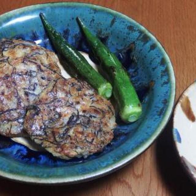 もずく山芋のオリーブオイル焼き