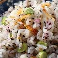 ちょっと大人味☆桜エビとゆかりの混ぜ寿司