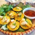 ベトナムのストリートフード「バインコット」はたっぷりの野菜といただくヘルシーたこ焼きでした。