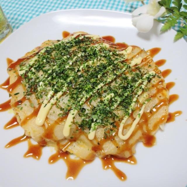 フライパンで作る☆広島風お好み焼き