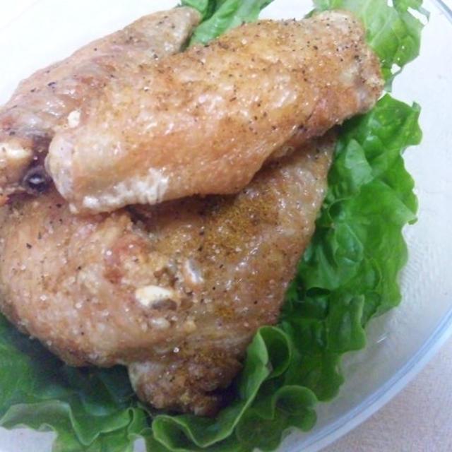 鶏手羽肉のカレー唐揚げ