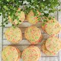 レシピ*簡単かわいい♥カラフルアイスボックスクッキー