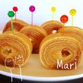 卵焼き器でまきまき☆しっとりバームクーヘン by Mariさん