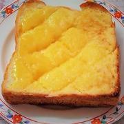 <甘くてこってりメロンパン風トースト>