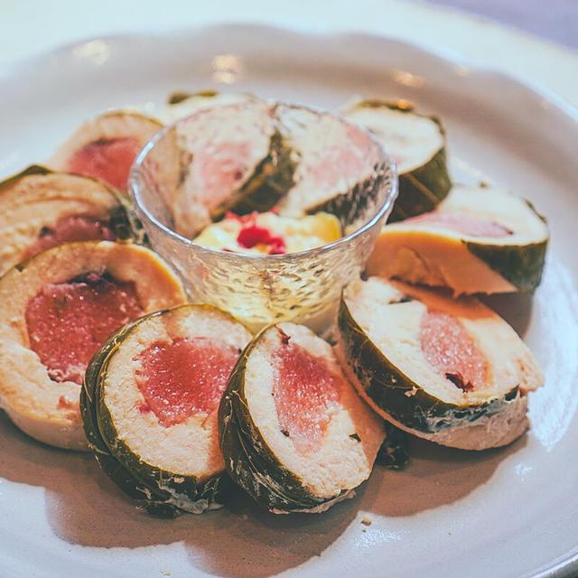 63℃ おやつのような栄養食 桜餅風ロールチキン