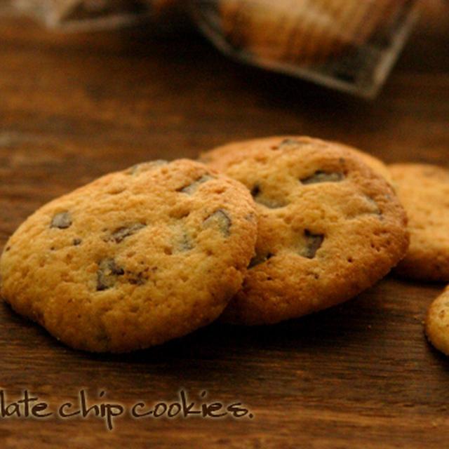 チョコチップクッキー。