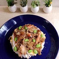 焼き肉 ×寿司飯= 大満足な 焼き肉寿司♪