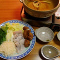 PCを買った日の晩御飯☆鱧鍋☆〆は素麺♪☆♪☆♪