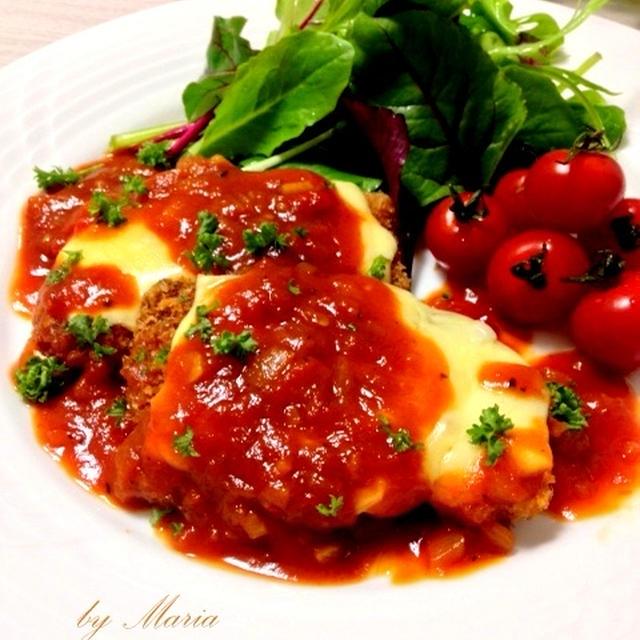 チーズのっけポークカツレツ*ミラノソース
