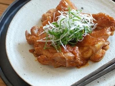 >鶏肉の辛味噌煮 by marronさん