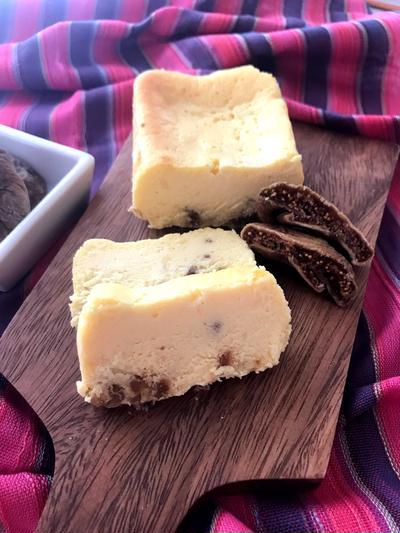 簡単♡プチプチ美味しい♪いちじくのチーズテリーヌ