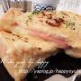 トロトロチーズとハムのフレンチトースト
