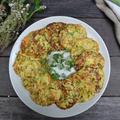 Zucchini Rice Pancakes ズッキーニのライスパンケーキ