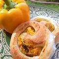 かぼちゃロールパン