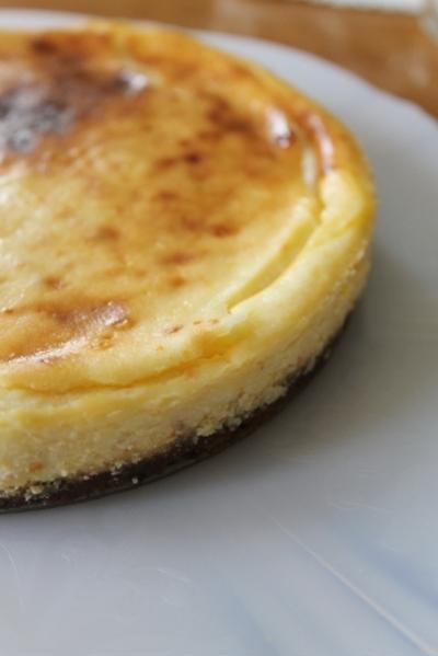 ほんのり香る みかんのチーズケーキ