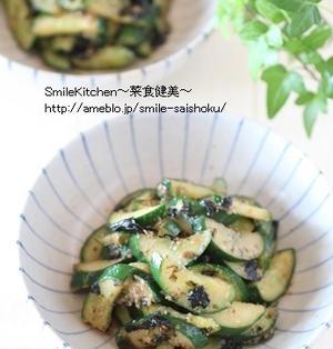 レシピ【5分で簡単!!きゅうりの味噌海苔おかか炒め】&つくレポお礼m(__)m