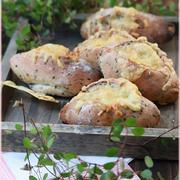 【レシピ】ベーコンとチーズの香ばしパン。と 変じゃない???