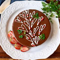 我が家の本命用。【ザッハトルテ風チョコレートケーキ】顔面蒼白…