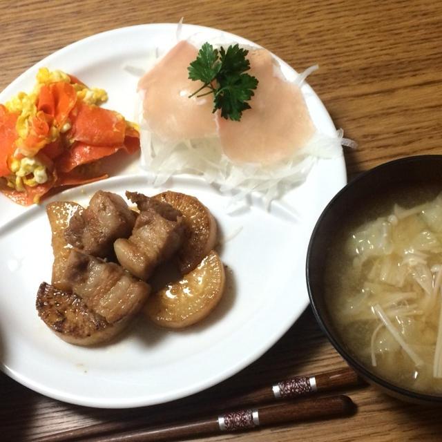 大根と豚の角煮