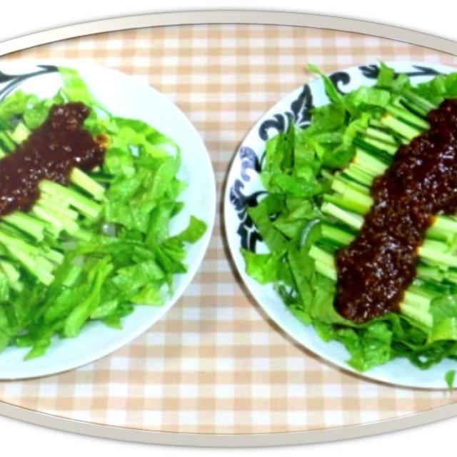 自家製肉味噌でジャージャー麺