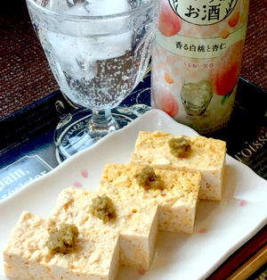 【おうちのみ大使】簡単過ぎるレンチン蒸したまご豆腐