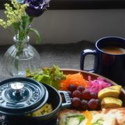 ストウブで「ワンプレート朝ごはん」