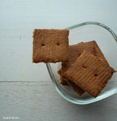 小麦粉・卵不使用 ピーナッツバタークッキー