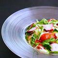 [そうめんアレンジ]タコと水菜の冷製パスタ風そうめんの作り方レシピ 料理動画