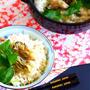 土鍋で作る絶品カキの炊き込みごはんの作り方レシピ
