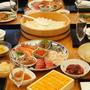 豪華巻き寿司パーティー&お祝いケーキ