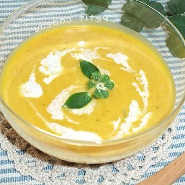 低たんぱく・減塩ごはん かぼちゃスープ