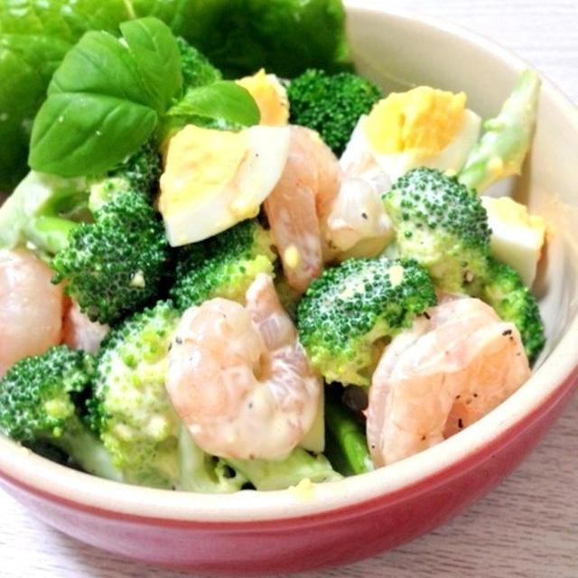 海老とブロッコリーのデリ風サラダ
