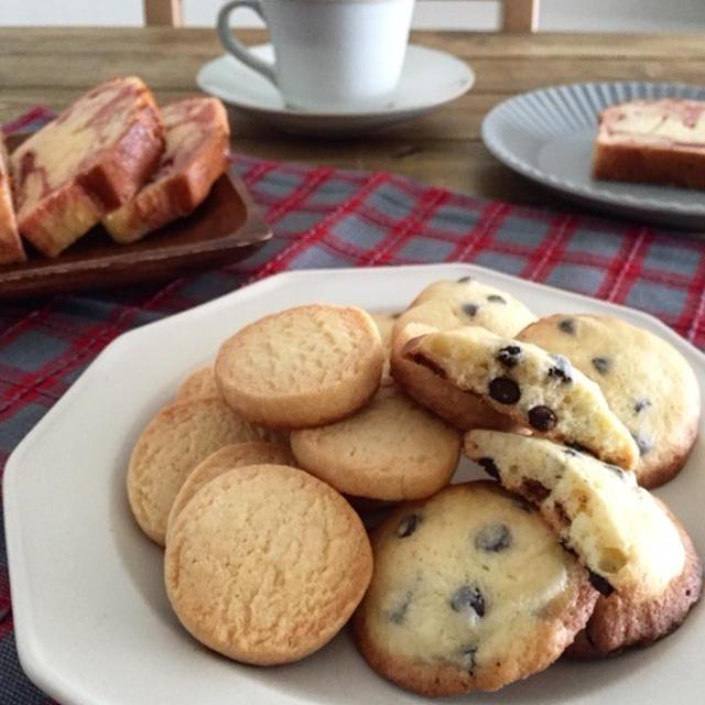 すぐ焼ける♪型抜き不要の【ドロップクッキー】チョコチップ*クッキー*速攻