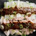 蒸し豚と蒸し大根のごま味噌ダレのレシピ