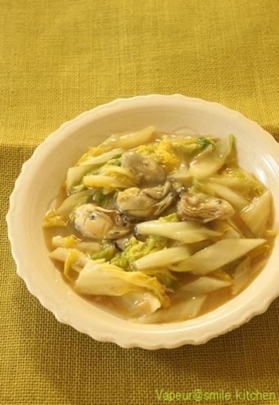 牡蠣と白菜のオイスター炒め