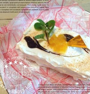 簡単!おうちスイーツ♪食パンとジャムでシナモン香るチョコフルーツのショートケーキ