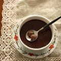 材料3つでできちゃう☆濃厚チョコレートプリン