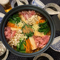 栃木県産ニラたっぷり!①ニラとゴマ香る豚しゃぶキムチ鍋