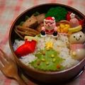 クリスマス弁当&塩麹漬け鮭焼き弁当