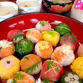 手まり寿司です☆