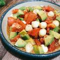 切って和えるだけ!トマトとアボカドのチョレギ 鶏ミンチと豆腐のハンバーグ トマトの効能効果